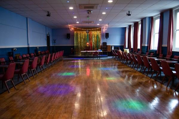 Small Hall dance floor