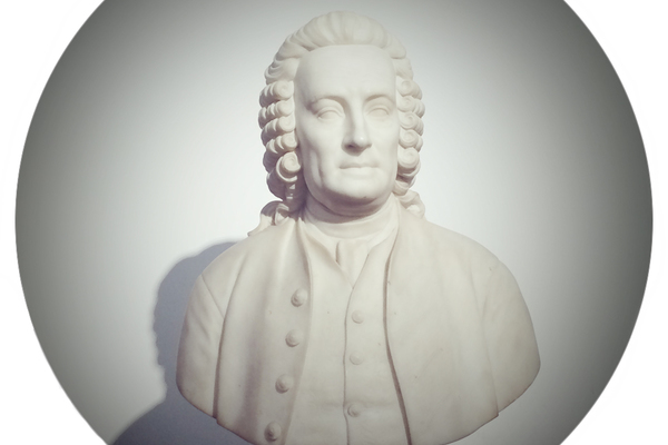 Bust of Swedenborg by Preston Powers (1879)