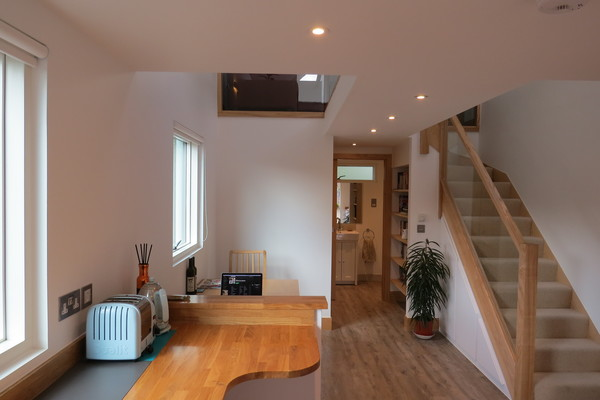 One bed - ground floor living space