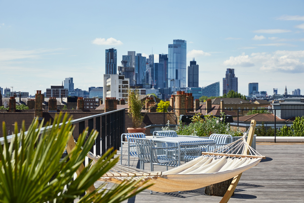 Rooftop terrace - City views