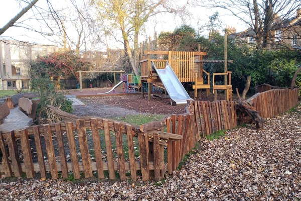 Playground designed and built by MOH Design and Adventure Playground Engineers
