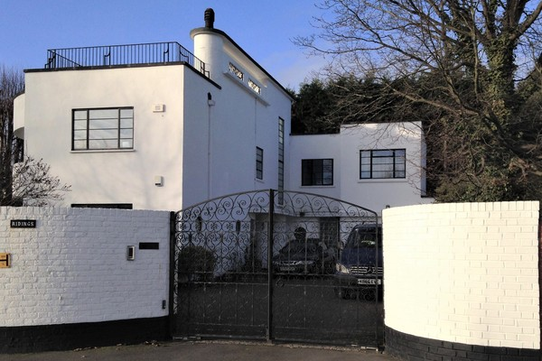 One of a remarkable mix of 1930s styles at Putney Heath