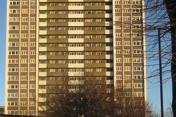 CLFranck, Michael Cliffe House, Finsbury Estate 1965