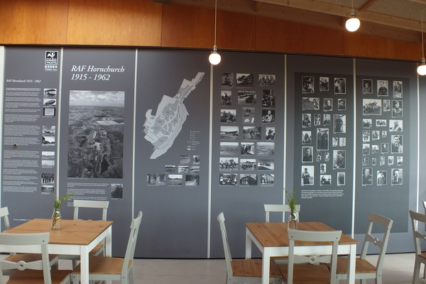 R.A.F. Installation in Cafe