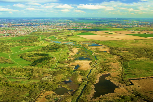 Aerial View of Ingrebourne Valley & Country Park