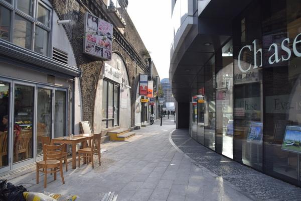 Latin American small businesses and community hub at Maldonado Walk