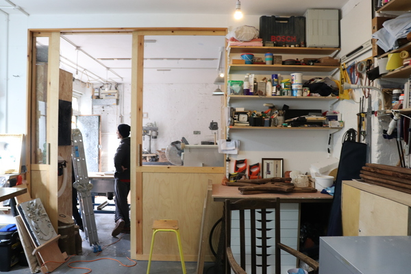 Workshop at Pullens Yard