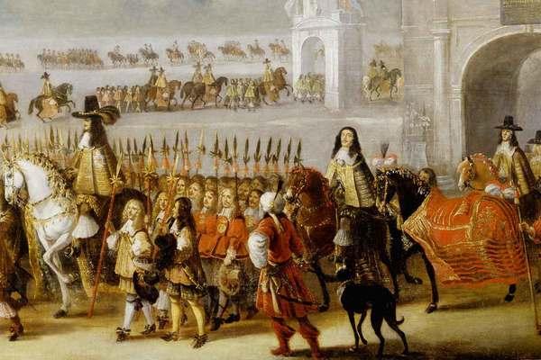 Charles II's Coronation Cavalcade