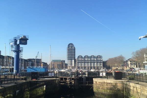 Greenland Dock Today