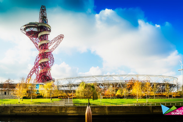 London Stadium and Arcelor Mittal Orbit