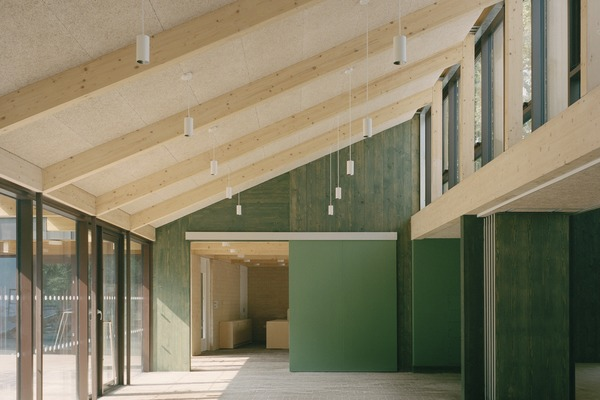 Flexibility has been a key element of the brief for the adaptable spaces.