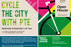Cycle the City with PTE